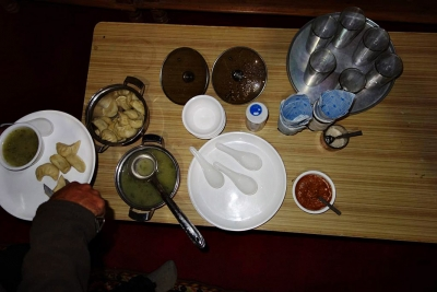 Delectable Namgyal's momos & Chutney