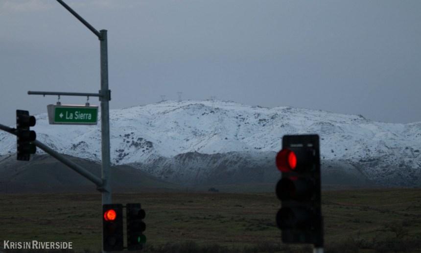 Riverside Snow - 12/31/14