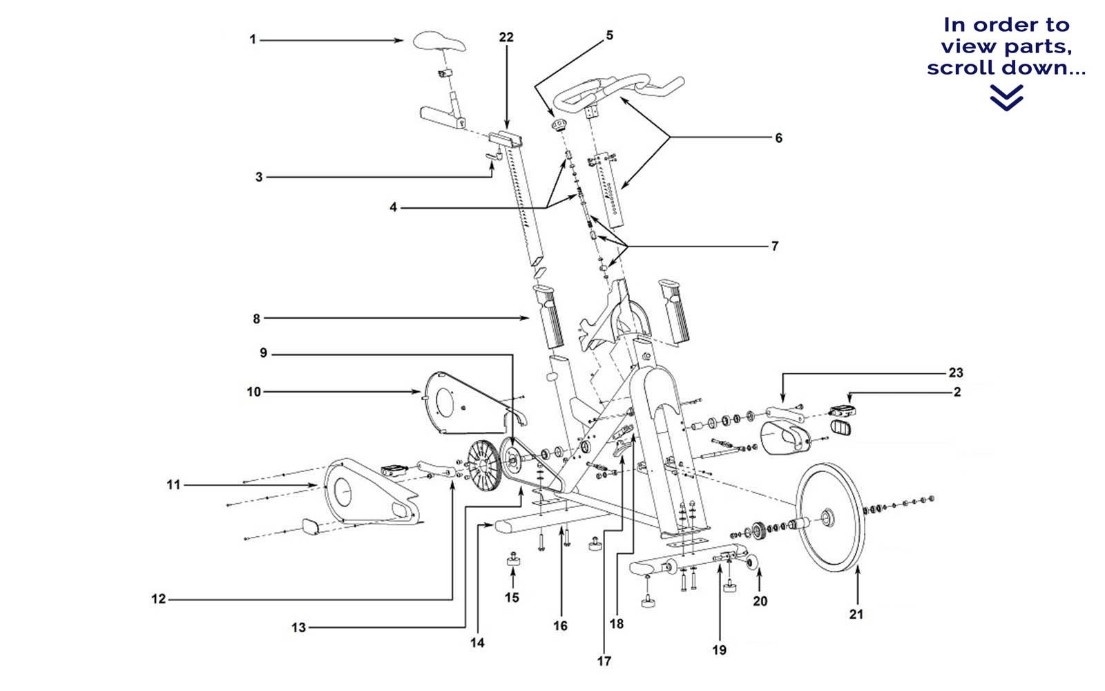 Matrix Tomahawk E-Series--Scroll down to view parts