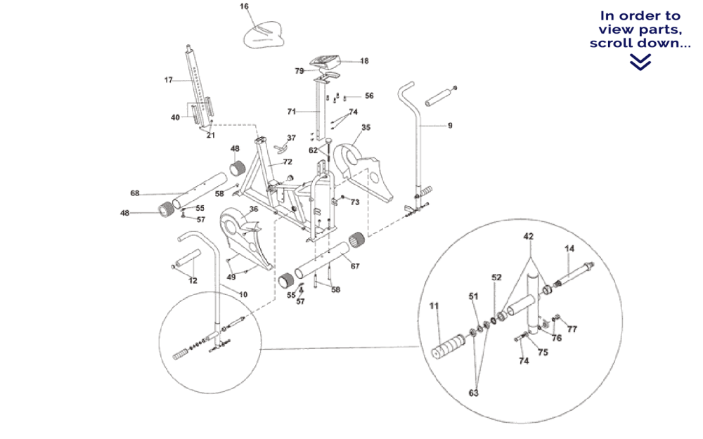 medium resolution of krislynn provides the diagram below for your convenience a complete table of available parts is directly below the diagram numbers next to the name of