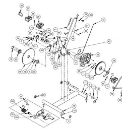a complete table of available keiser bike parts is directly below the diagram numbers next to the name of each part correspond to the numbers in the  [ 1600 x 1000 Pixel ]