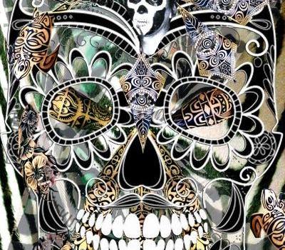 Skulls Collage