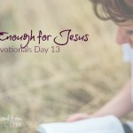 You Are Enough for Jesus