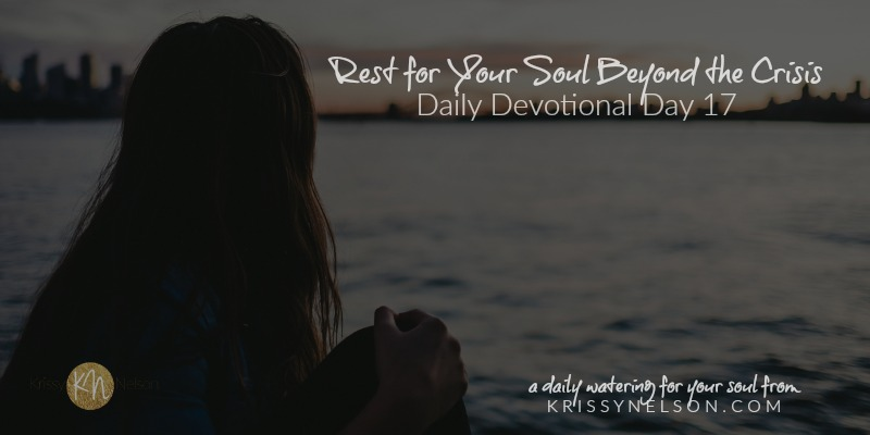 Rest for Your Soul Beyond the Crisis
