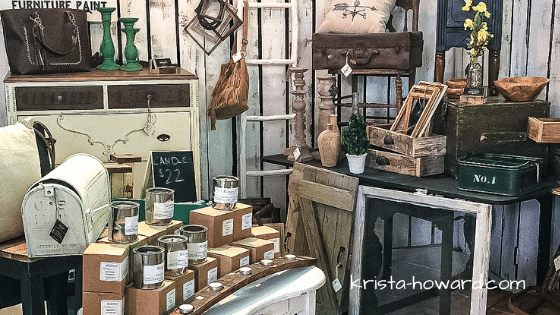 Junkstock booth Vintage And Restore By K