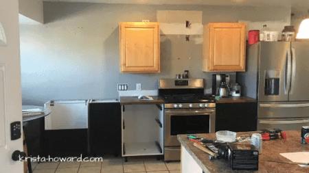 DIY Vintage Farmhouse Kitchen Reveal