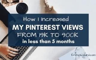 Increase Pinterest Views