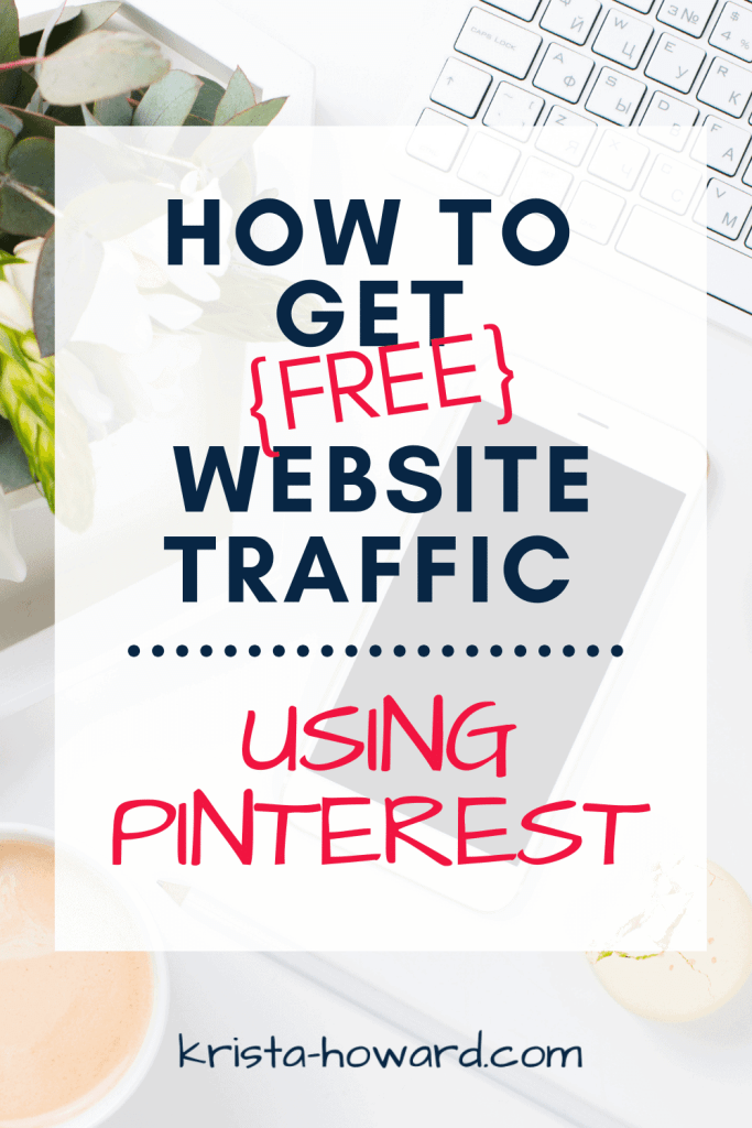 How to get free website traffic using Pinterest