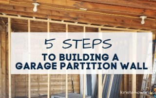 Garage Partition Wall