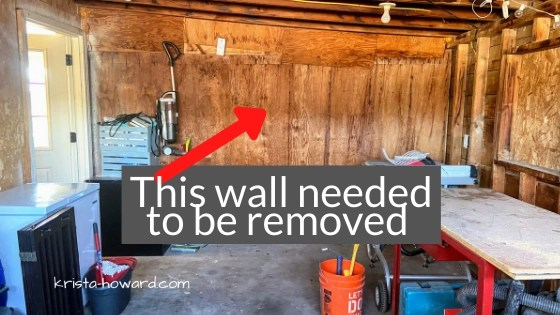 wall removal