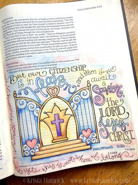 Philippians 3 20