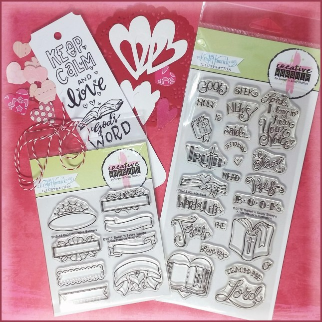 Sweet 'n Sassy Stamps Lovin' His Word Bible Journaling Kit