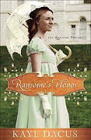 Holiday Book Giving Guide: Kaye Dacus' Ransome's Honor