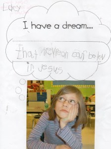 Lacy has a dream…