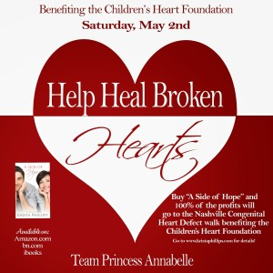 SUPPORT Congenital Heart Defect Research! TODAY ONLY!
