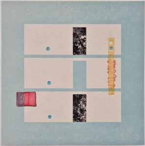 Map 16- Letterpress and Mixed Media - 6x6 - 2013