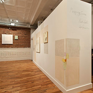 Krista Svalbonas - Mapping Time - Firehouse Gallery - Orange, NJ
