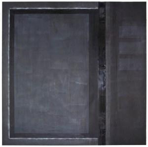 Anima 4 - Wax Graphite Pastel on Panel - 30x30