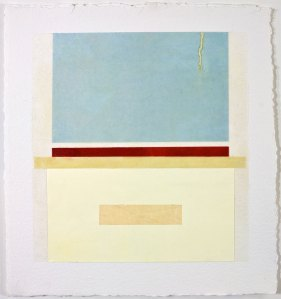 EPIPHYSIS 7 - 8x8 - Wax, Paper and Oil on Paper - 2010