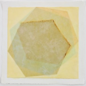 ANAXAGORAS 1 - 14x14 - Wax, Paper and Clay on Paper - 2011
