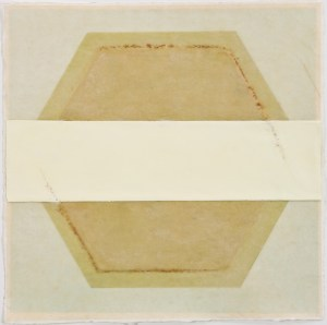 ANAXAGORAS 2 - 14x14 - Wax, Paper and Clay on Paper - 2011