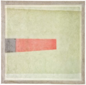RESONANCE 3 - Wax, Digital Photogram On Paper 8x8 - 2011