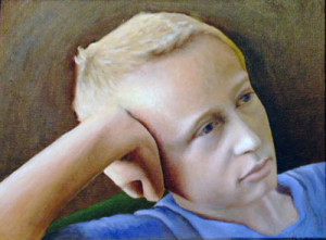 One of my first portraits.  My son Alex.