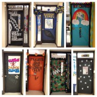 Door Decorations For School Spirit - homecoming week door ...