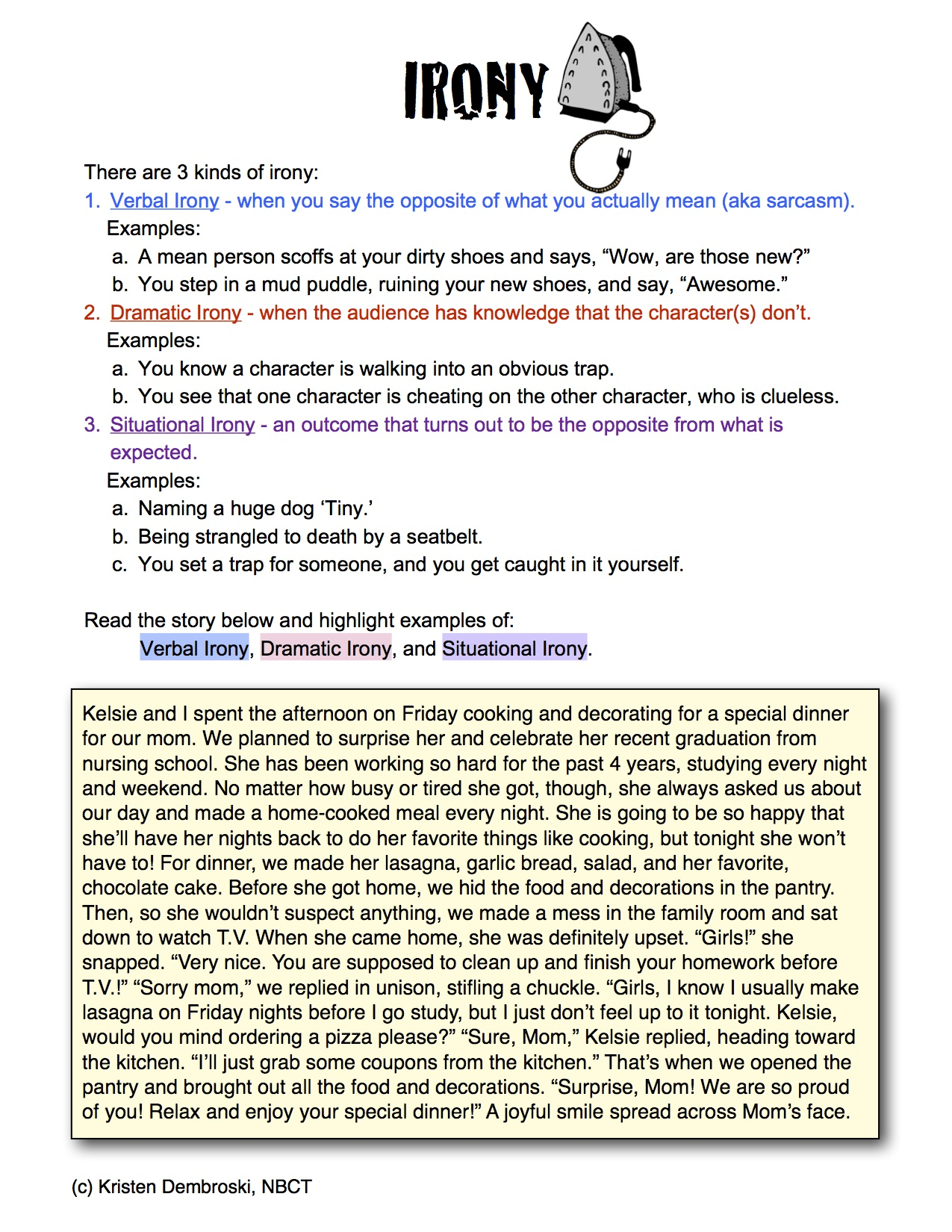 Worksheet Irony Worksheet Grass Fedjp Worksheet Study Site