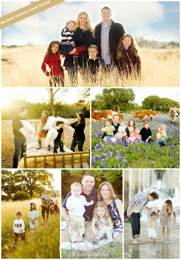 The Great Outdoors Photo Sessions
