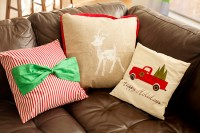 18 Stunning Homemade Christmas Pillows - Tierra Este | 72866