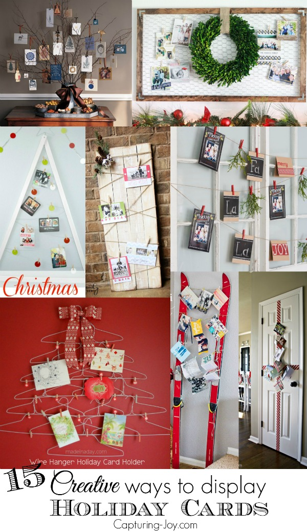 15 Creative Ways To Display Holiday Cards