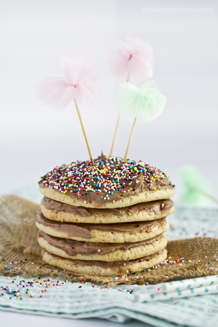Layered Birthday Cookie Cake  Capturing Joy with Kristen Duke