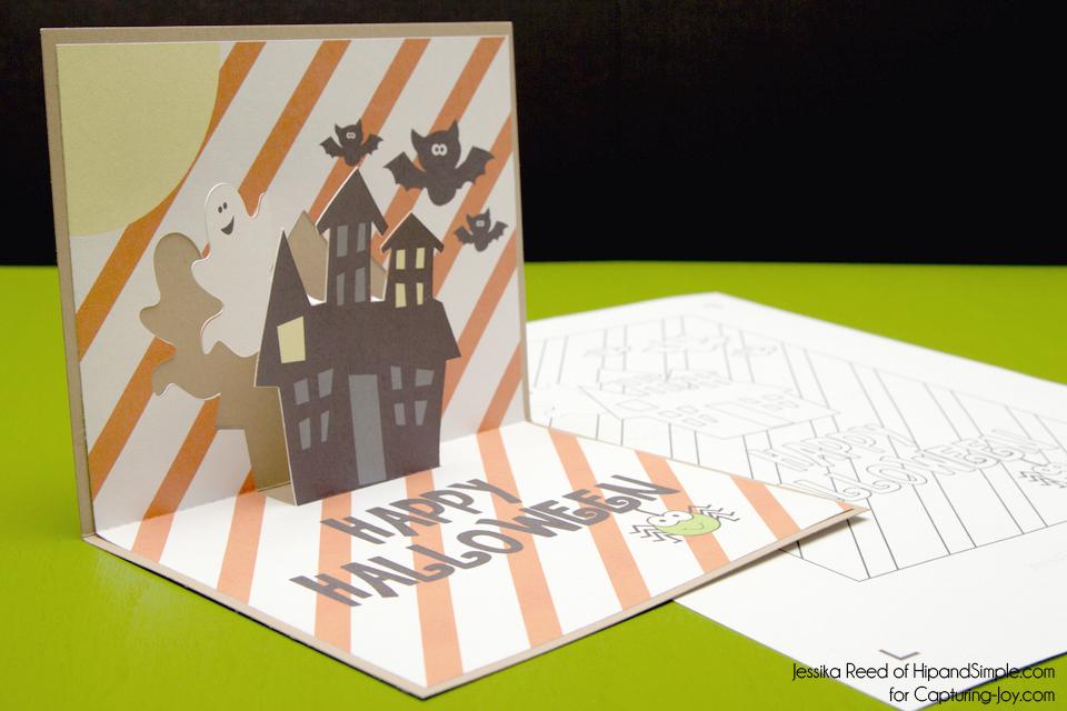 Printable Halloween Card Free Pop Up Halloween Card