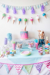 Kids Ice Cream Birthday Party - Capturing Joy with Kristen ...