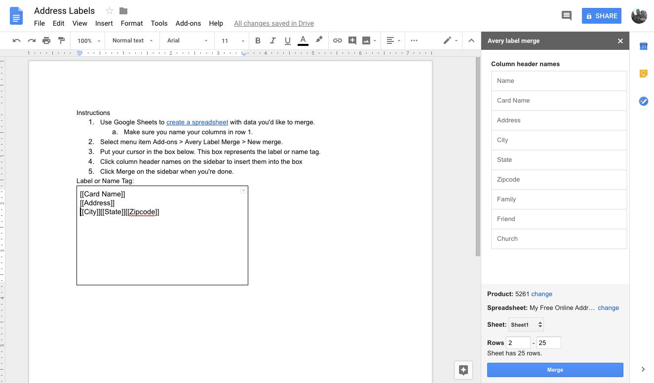 online address book tutorial