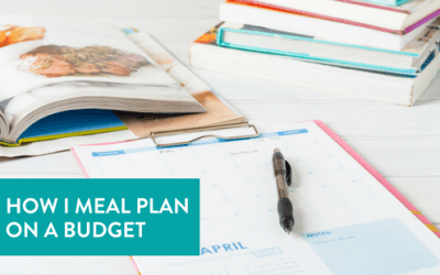 How I Meal Plan on a Budget