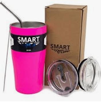 Pink Smart Water Bottle