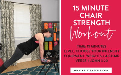 15 Minute Chair Strength Workout