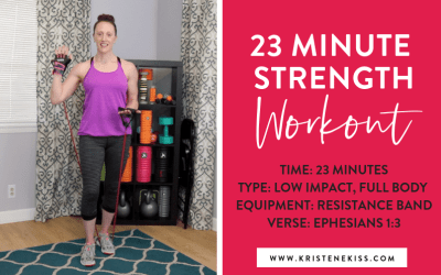23 Minute Full Body Strength Workout