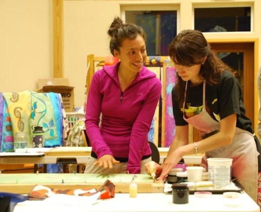 Grunewald Guild Silk Workshop 2011