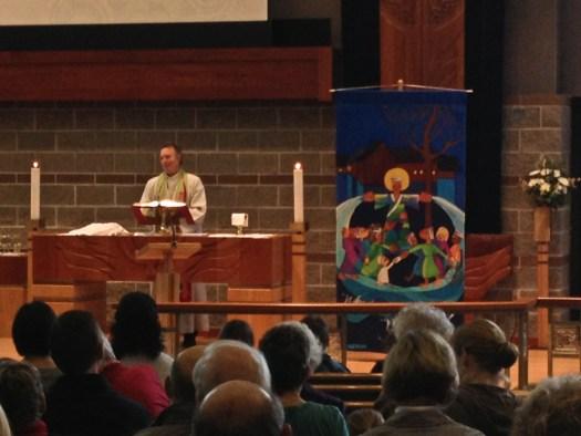 "Kristen Gilje's ""Who Is My Neighbor?"" with pastor Jan Ruud, St. Mark's Tacoma WA"