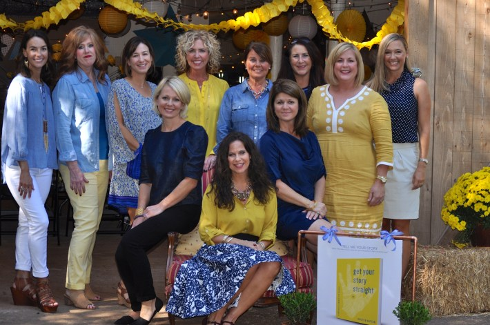 These Edmond, Oklahoma ladies outdid themselves with the best book launch barn party I could've imagined!