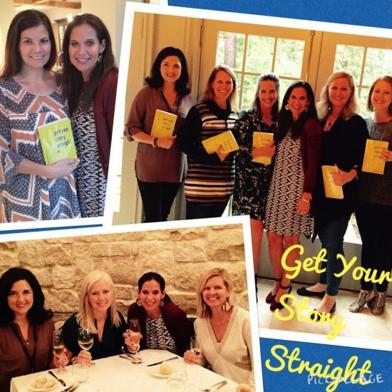 Houston, Texas Get Your Story Straight book launch party and reuniting of old friends!