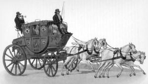 Regency Era Carriage: mailcoach