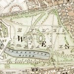 "Hyde Park section of ""Improved map of London for 1833, from Actual Survey. Engraved by W. Schmollinger, 27 Goswell Terrace"""