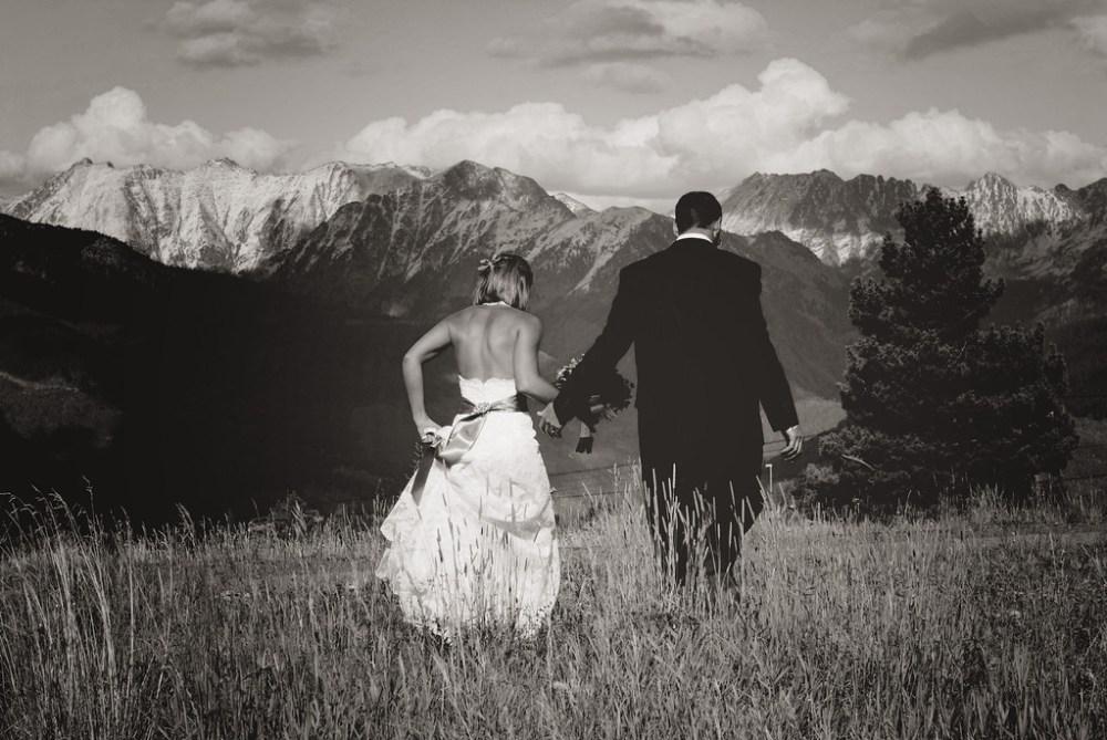 Fall Vail Colorado wedding