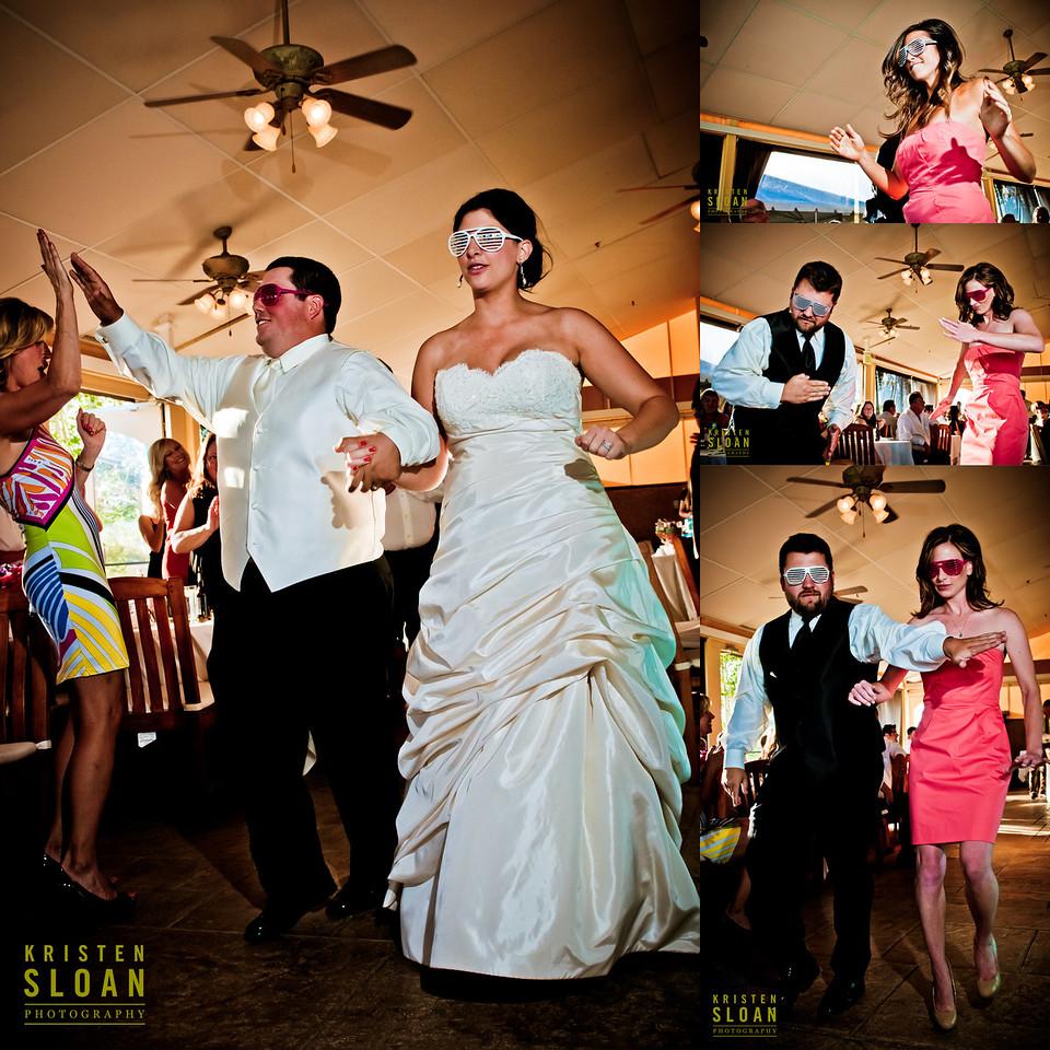Hipster Eighties Wedding Reception