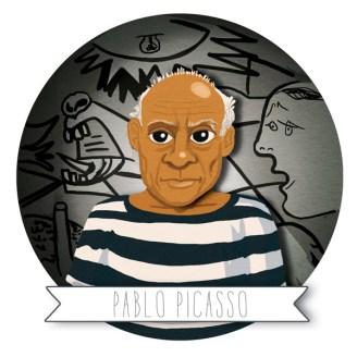 Pablo Picasso cartoon ile ilgili görsel sonucu
