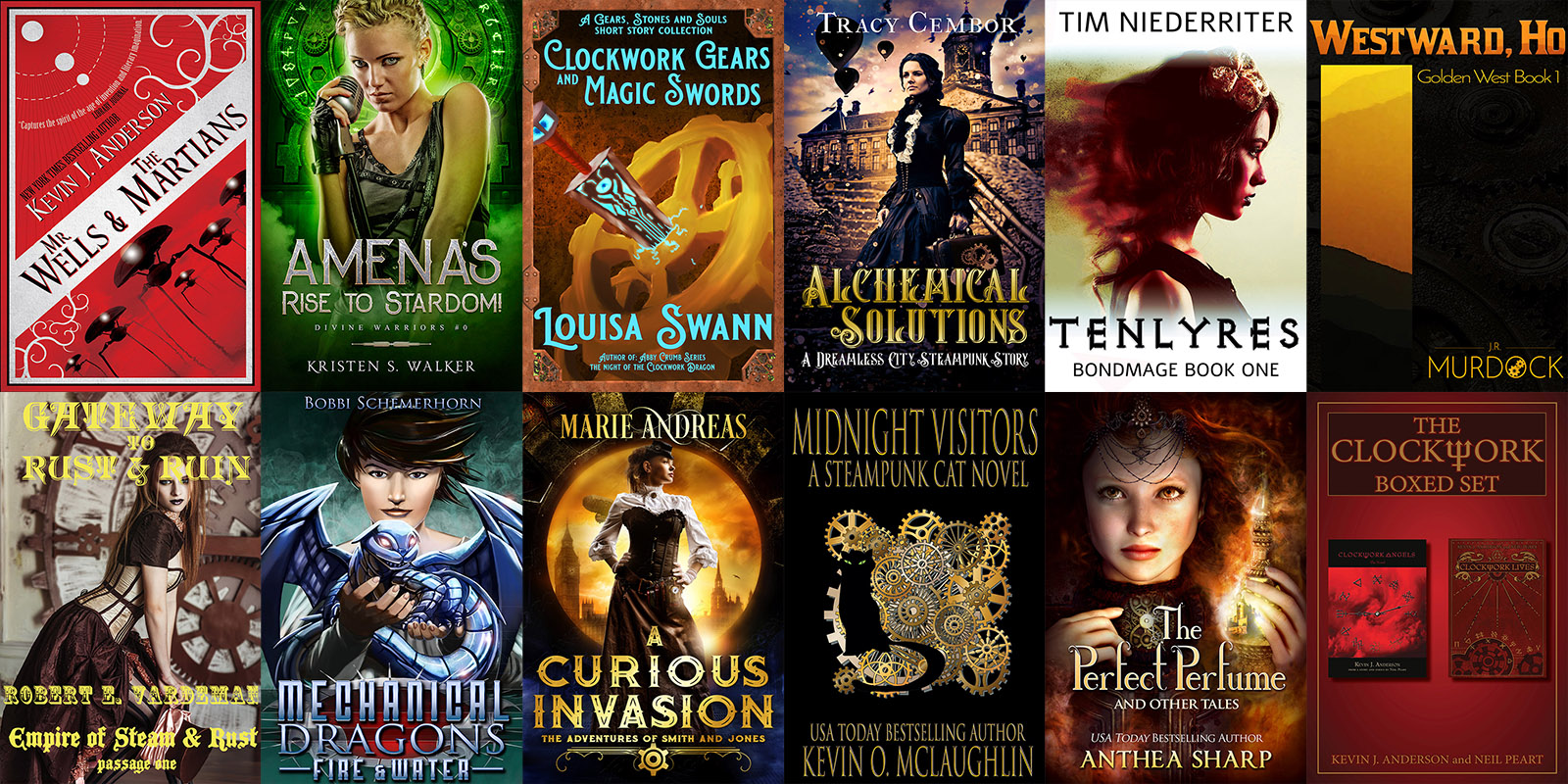 You are currently viewing The Airships and Clockwork Steampunk StoryBundle